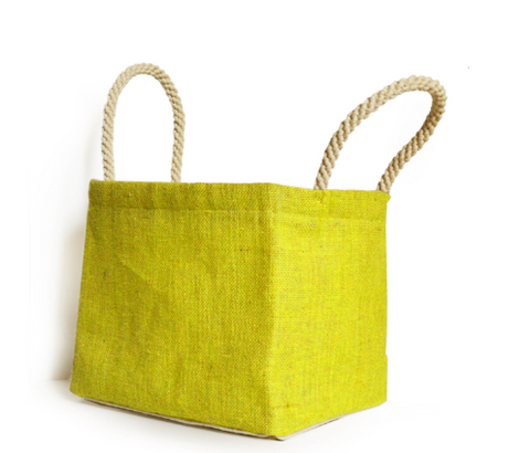 Yellow Laundry Baskets, Dorm Laundry Bags, Baby Shower Gifts, Grey Laundry Baskets, Burlap Laundry Bin, Baby Room Baskets