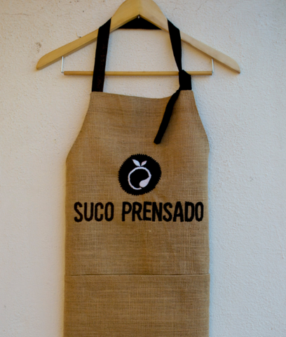 Personalized Burlap Apron
