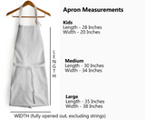 Personalized Monogram Apron Cotton Women Men Kids Aprons Kitchen Cooking Gift Wedding Gift Anniversary Gift, Free Shipping
