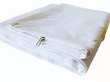 White embroidered queen size duvet covers