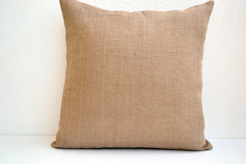 Handmade gray color block silk sequin pillow