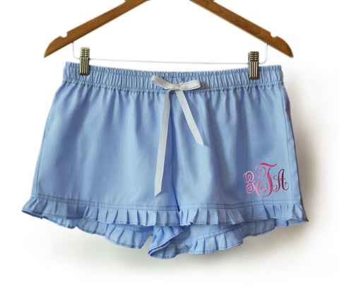 Customizable Monogram shorts from Casa Amore International