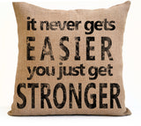 motivational pillow amore beaute