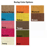 amore beaute burlap color chart