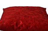 Personalized Red Sequins Decorative Pillow Cover