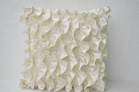 Amore Beaute Ivory white pillow