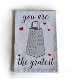 Handmade, personalized tea towels - buy three, get one free