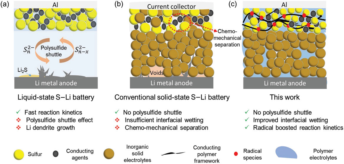 Solid‐State Lithium–Sulfur Battery Enabled by Ampcera Solid State Electrolyte Material