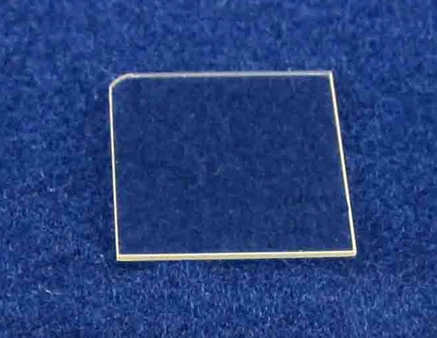 10 mm x 10.5 mm Fe-Doped Semi-Insulating Gallium Nitride Single Crystal C-Plane (0001),  MSE Supplies