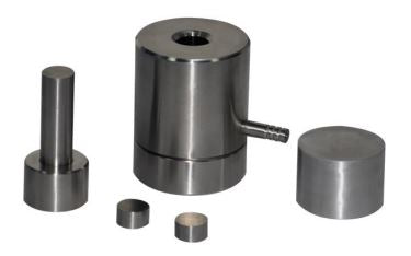 20 mm Diameter Dry Pellet Pressing Die Set,  MSE Supplies