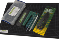 Cleaving Kit-with mat for Wafers, Crystal and Glass Substrates,  MSE Supplies