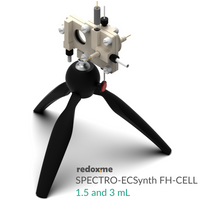 Spectro-Electrosynthesis Flow H-Cell setup,  MSE Supplies