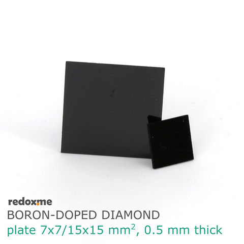 Boron-Doped Diamond plate,  MSE Supplies LLC