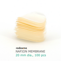 Nafion Membrane 20 mm dia. (pack of 100),  MSE Supplies