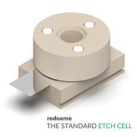 The standard etch cell setup,  MSE Supplies LLC