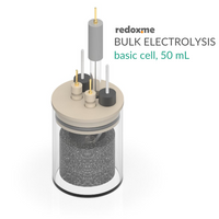 Bulk electrolysis basic cell setup,  MSE Supplies