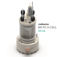 Bottom mount front contact electrochemical H-Cell setup,  MSE Supplies