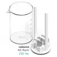Adjustable substrate rack for 150 mL beaker,  MSE Supplies