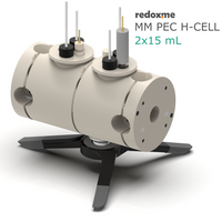 Photo-electrochemical H-cell setup,  MSE Supplies