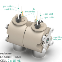 Double-tank etch cell setup,  MSE Supplies