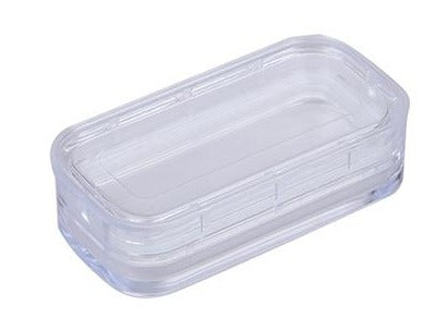 Plastic Membrane Box (80x42x20 mm) for Delicate Materials Storage,  MSE Supplies