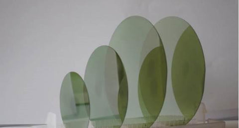 Customized SiC Epitaxial Wafers on SiC Substrates, Silicon Carbide Epi Wafers,  MSE Supplies