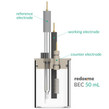 Basic electrochemical cell setup,  MSE Supplies