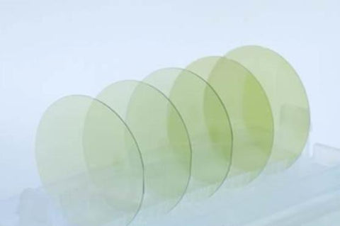 4 inch 100 mm Silicon Carbide (4H-SiC) Wafer, N-type or Semi-insulating Crystal Substrates,  MSE Supplies