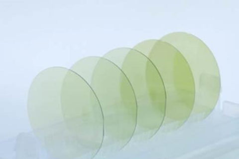6 inch 150 mm Silicon Carbide (4H-SiC) Crystal Substrates wafers, N-type or Semi-insulating,  MSE Supplies