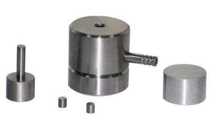 "0.25"" (6.35 mm) Diameter Dry Pellet Pressing Die Set,  MSE Supplies"