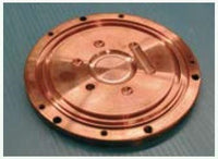Copper Crucible Plate Standard Mould for Mini Arc Melter MAM-1, Part 8256,  MSE Supplies LLC