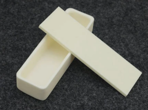 Covers for High Purity Alumina (Al<sub>2</sub>O<sub>3</sub>) Boat Crucible Rectangular,  MSE Supplies