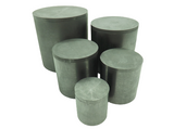 High Purity Graphite Crucible with Lid,  MSE Supplies