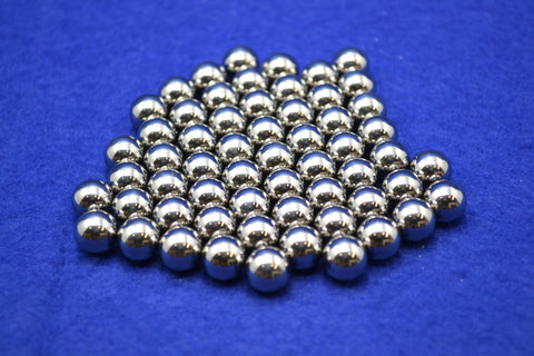 Chrome Steel Grinding Media Balls, 1 kg,  MSE Supplies