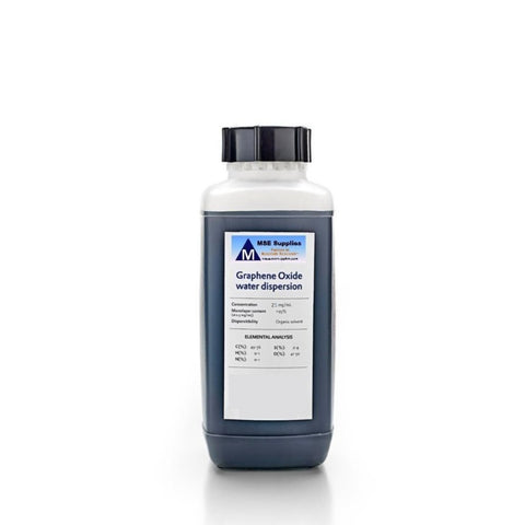 4 L High Concentration Monolayer Graphene Oxide Water Dispersion 25 mg/ml,  MSE Supplies LLC