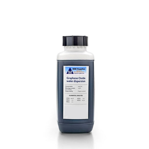 Graphene Oxide 0.5 mg per mL, Water Dispersion 250 mL from MSE Supplies