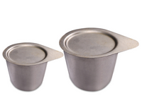 High Form 99.9% Purity Nickel Crucible with Lid - MSE Supplies LLC