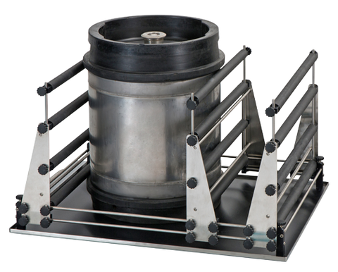 Rack system Barrel Shaker (Edmund Buhler, Made in Germany)