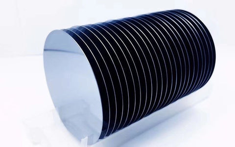 1 Cassette (qty. 25) of 100 mm N Type (P-doped) Prime Grade Silicon Wafer <100>, SSP, 1-10 ohm-cm,  MSE Supplies