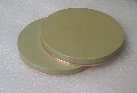 Indium Bonding on Cu Backing Plate for Sputtering Targets,  MSE Supplies LLC