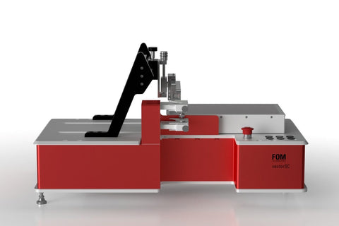 Sheet Based Slot Die Coater, Model FOM vectorSC, made in Denmark by FOM Technologies,  MSE Supplies LLC