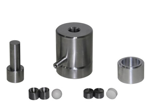 12 mm Diameter Sphere Dry Pellet Pressing Die Set,  MSE Supplies