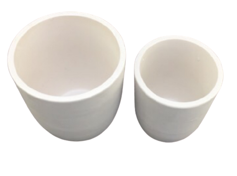 High Purity Zirconia (ZrO<sub>2</sub>) Crucible High Form,  MSE Supplies