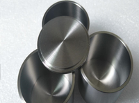 Covers for Zirconium (Zr) Cylindrical Crucibles,  MSE Supplies