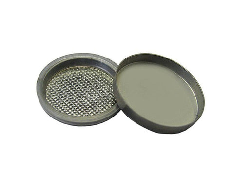 100 pcs of Stainless Steel 304SS CR2025 Coin Cell Cases for Battery Research,  MSE Supplies