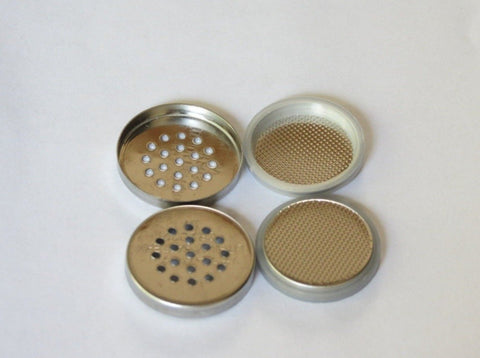 10 pcs of Meshed Stainless Steel 304SS CR2032 Coin Cell Cases for Lithium/Zinc Air Battery Research,  MSE Supplies LLC
