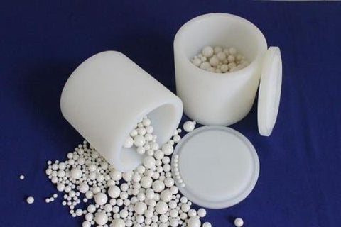 Nylon Planetary Mill Grinding Jar (Cup, Bowl) with Lid and gasket - MSE Supplies