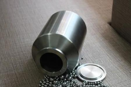 10,000ml (10L) Stainless Steel Roller Mill Jar, including lid, gasket and clamp,  MSE Supplies