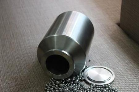 15,000ml (15L) Stainless Steel Roller Mill Jar, including lid, gasket and clamp,  MSE Supplies