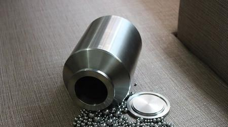 3L (3,000ml) Stainless Steel Roller Mill Jars,  MSE Supplies